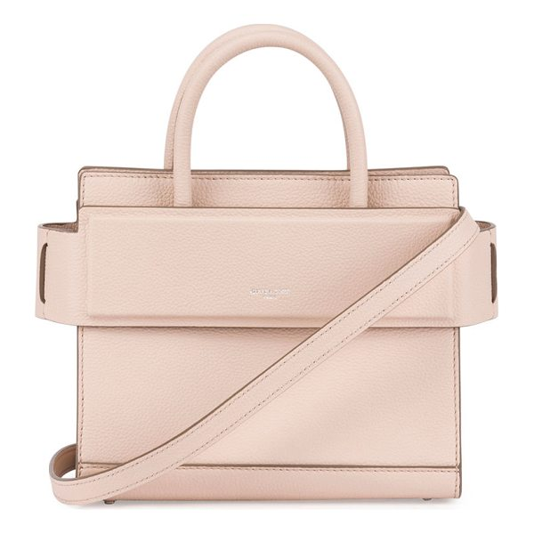 """GIVENCHY Horizon Mini Grained Leather Tote Bag - Givenchy smooth leather tote bag. Approx. 8""""H x 4""""W x..."""