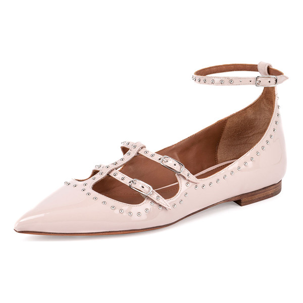 GIVENCHY Studded patent leather ballet flat - Givenchy studded patent leather ballet flat. 0. 25 flat...