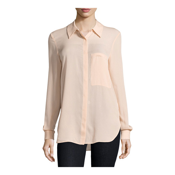 "HAUTE HIPPIE The husband button-front shirt - Haute Hippie ""The Husband"" woven shirt. Approx. length:..."