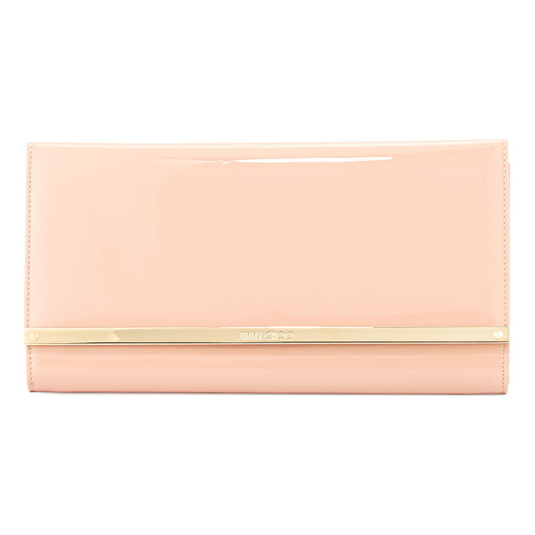 JIMMY CHOO Maia large patent wallet clutch bag - ONLYATNM Only Here. Only Ours. Exclusively for You. Jimmy...