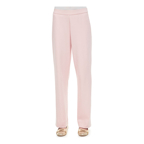 "JOAN VASS Full-Length Jog Pants - Joan Vass jersey pants. Approx. measurements: 30 1/2""..."