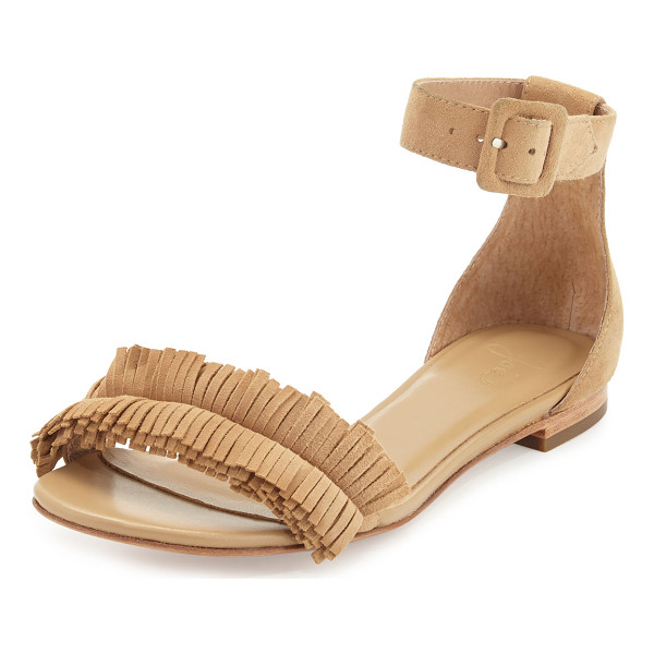 JOIE Ferris Fringe Suede Sandal - ONLYATNM Only Here. Only Ours. Exclusively for You. Joie...
