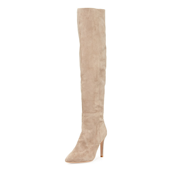 JOIE Olivia over-the-knee suede boot - ONLYATNM Only Here. Only Ours. Exclusively for You. Joie...