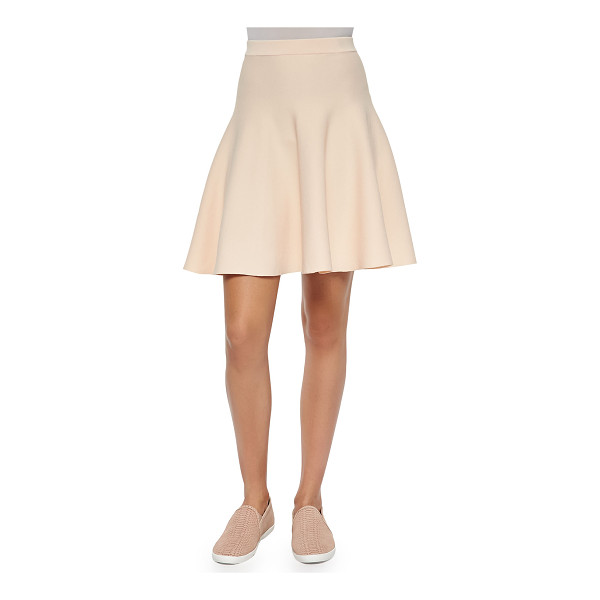 "JONATHAN SIMKHAI Fit-and-flare knit skirt - Jonathan Simkhai knit skirt. Approx. measurements: 18""L..."