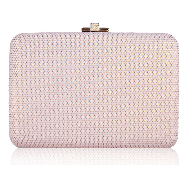 "JUDITH LEIBER COUTURE Slim Slide Crystal Evening Clutch Bag - Judith Leiber Couture ""Slim Slide"" clutch bag. Removable"