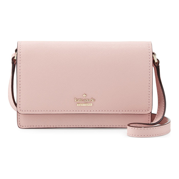 KATE SPADE NEW YORK cameron street arielle crossbody bag - kate spade new york crosshatched leather crossbody bag.