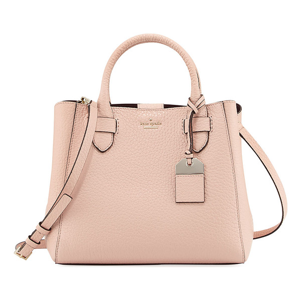"KATE SPADE NEW YORK carter street devlin small tote bag - kate spade new york ""carter street devlin"" pebbled leather..."