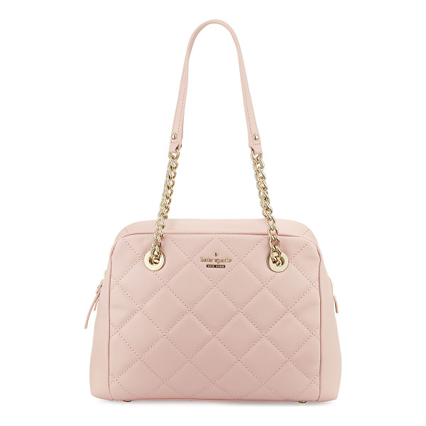 KATE SPADE NEW YORK emerson place dewy quilted shoulder bag - kate spade new york quilted leather shoulder bag. Light...