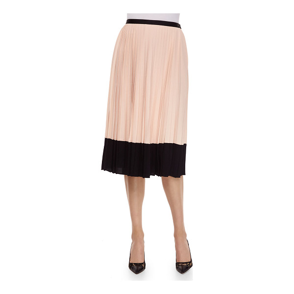 "KATE SPADE NEW YORK pleated midi two-tone skirt - kate spade new york two-tone georgette skirt. Approx. 29""L"