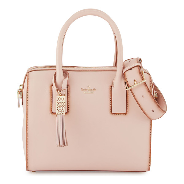 KATE SPADE NEW YORK ridley street leather satchel bag - kate spade new york satchel bag in smooth, double