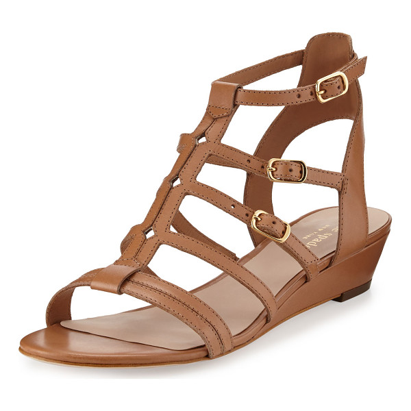 KATE SPADE NEW YORK Valetta leather demi-wedge gladiator sandal - kate spade new york vachetta leather gladiator sandal. 1....