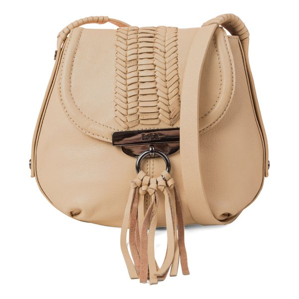 "KOOBA SEDONA CROSSBODY - Kooba pebbled leather crossbody bag. Approx. 8.5""H x 9""W x..."