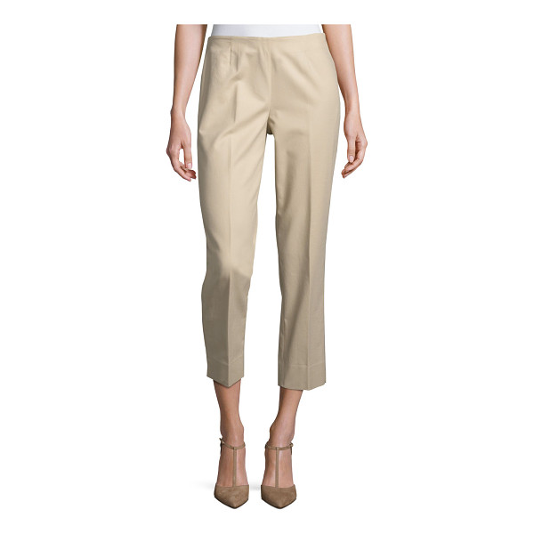 LAFAYETTE 148 NEW YORK Bleecker Cropped Pants - Lafayette 148 New York stretch-twill Bleecker pants.