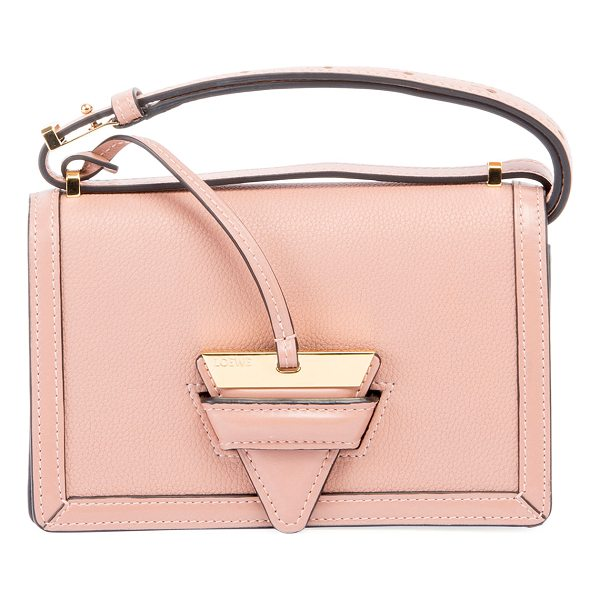 LOEWE Barcelona Small Grain Leather Crossbody Bag - Loewe crossbody bag in soft grained calf leather....