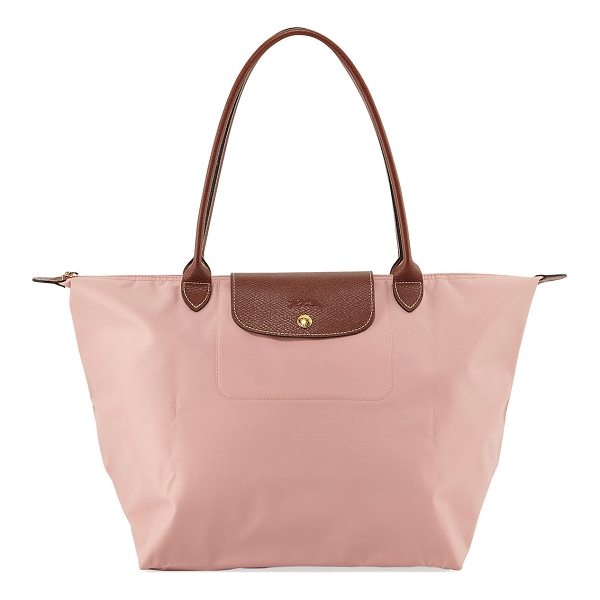 LONGCHAMP Le Pliage Large Shoulder Tote Bag - Longchamp tote in durable, lightweight nylon. Embossed...