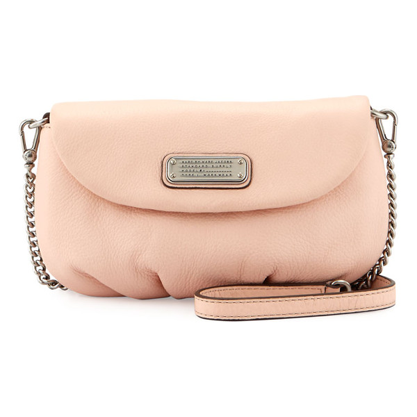 MARC BY MARC JACOBS New q karlie leather crossbody bag - MARC by Marc Jacobs crossbody bag in soft leather....