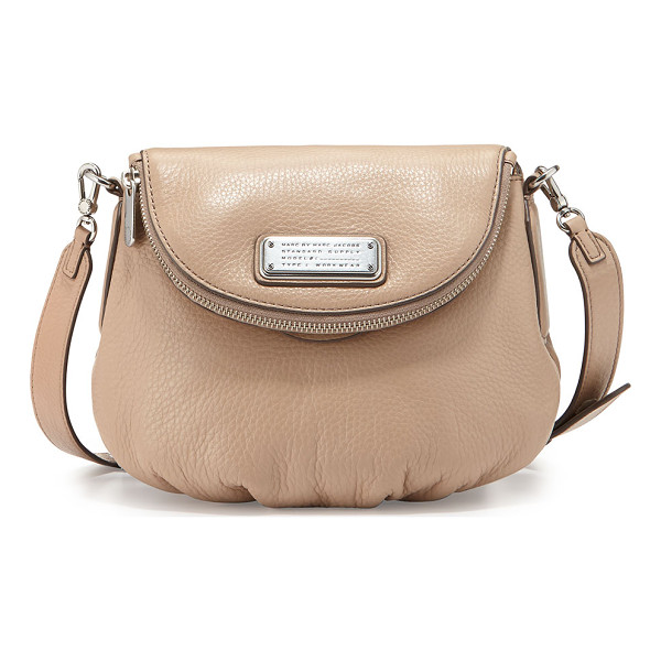 MARC BY MARC JACOBS New q zipper natasha mini bag - MARC by MARC Jacobs pebbled leather bag. Adjustable...