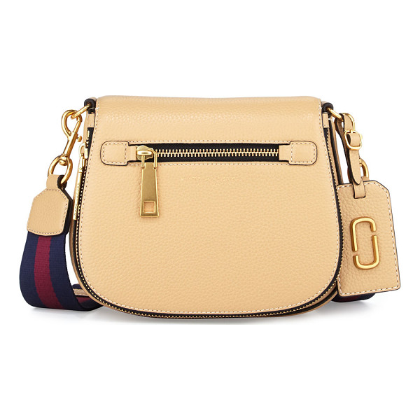 MARC JACOBS Gotham Small Nomad Saddle Bag - Marc Jacobs grained leather saddle bag. Removable,