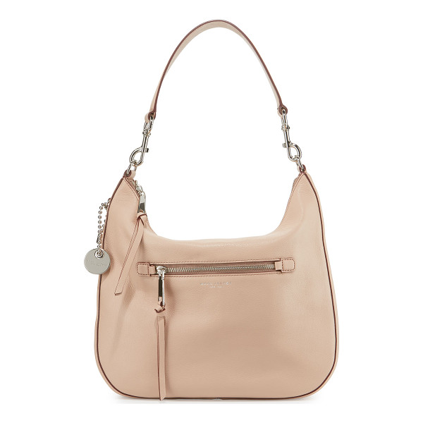 MARC JACOBS Recruit leather hobo bag - Marc Jacobs pebbled leather hobo bag with golden hardware....