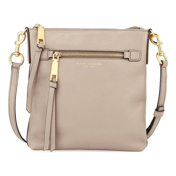 MARC JACOBS Recruit North-South Leather Crossbody Bag - Marc Jacobs pebbled leather crossbody bag. Available in...