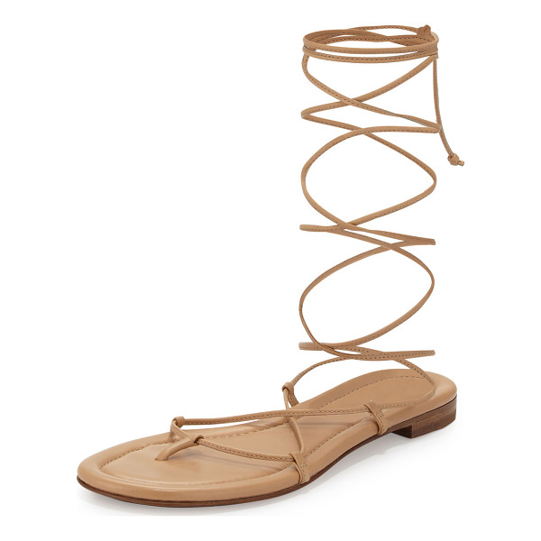 Michael Kors Collection Bradshaw Lace Up Gladiator Sandal