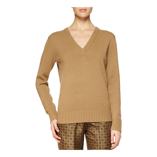 MICHAEL KORS Cashmere v-neck sweater -  Michael Kors cashmere knit sweater. Approx. measurements:...