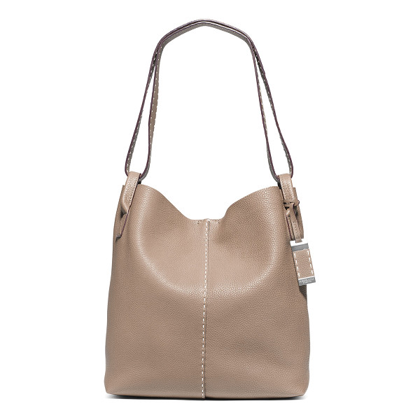 MICHAEL KORS COLLECTION Rogers Large Slouchy Hobo Bag - Michael Kors Collection grained calfskin hobo bag. Slouchy...