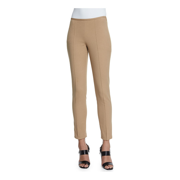 MICHAEL KORS Mid-Rise Skinny Pants - Michael Kors soft stretch-knit pants. Rise sits below the...