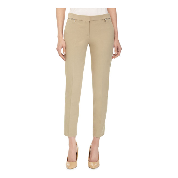 MICHAEL KORS Samantha ankle pants - Michael Kors knit ankle pants. Banded waist. Front zip...