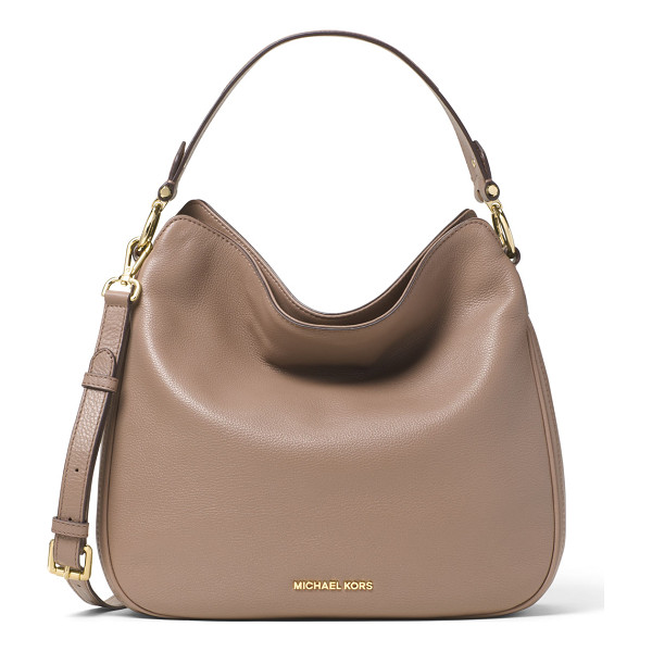 "MICHAEL MICHAEL KORS Heidi medium convertible shoulder bag - MICHAEL Michael Kors pebbled ""Venus"" leather shoulder bag...."