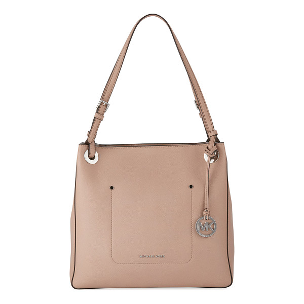 MICHAEL MICHAEL KORS Walsh Medium Saffiano Tote Bag - MICHAEL Michael Kors soft saffiano leather tote bag.
