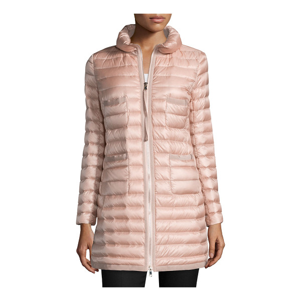 "MONCLER Bogue Puffer Jacket - Moncler ""Bogue"" channel-quilted puffer jacket. Stand..."
