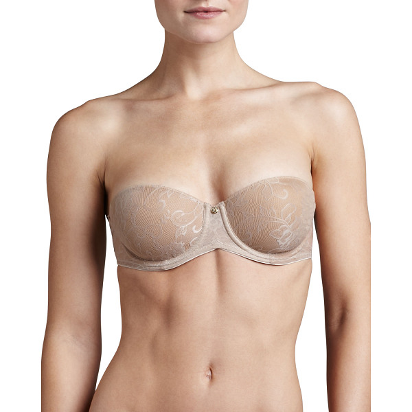 NATORI Calais Strapless Convertible Bra - Memory foam cups mold to your body for individual shape....
