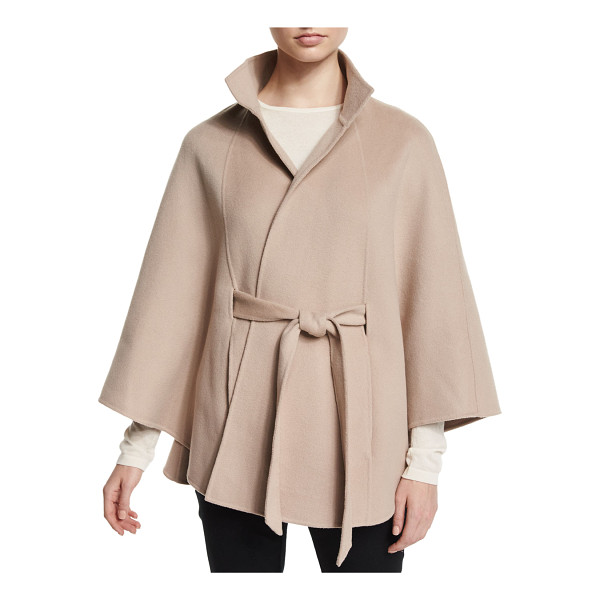 NEIMAN MARCUS CASHMERE COLLECTION Cashmere belted cape - ONLYATNM Only Here. Only Ours. Exclusively for You. Cape....