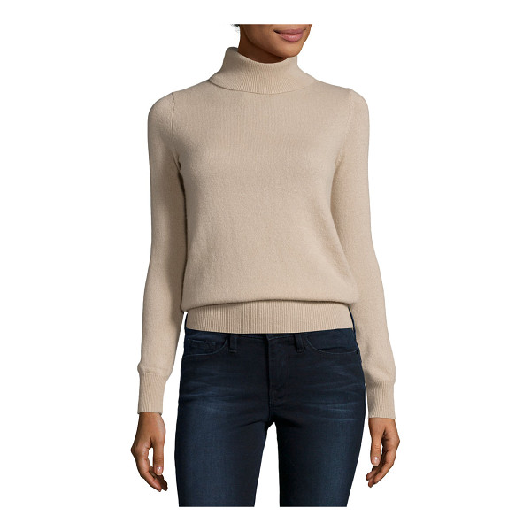 NEIMAN MARCUS CASHMERE COLLECTION Classic Long-Sleeve Cashmere Turtleneck - ONLYATNM Only Here. Only Ours. Exclusively for You. 9GG,...
