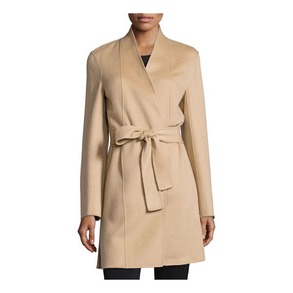 NEIMAN MARCUS CASHMERE COLLECTION Double-face woven cashmere coat - ONLYATNM Only Here. Only Ours. Exclusively for You....