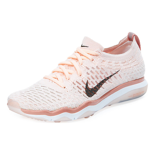 "NIKE Air Zoom Fearless Flyknit Sneaker - Nike flyknit sneaker with signature check at side. 1.3""..."