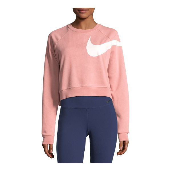 "NIKE Dry Versa Long-Sleeve Training Top - Nike ""Dry Versa"" training top with classic swoosh. Dri-FIT..."