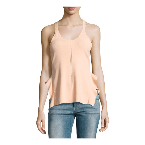"OPENING CEREMONY Stretch Crepe Racerback Tank - Opening Ceremony stretch crepe tank. Approx. 18.5""L from..."
