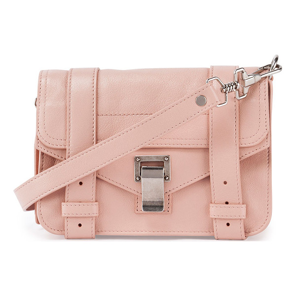PROENZA SCHOULER Ps1 mini luxe leather crossbody bag - Proenza Schouler luxe lamb leather mini satchel with...