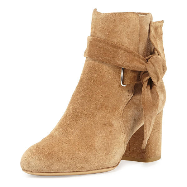 RAG & BONE Dalia Suede Ankle-Tie Bootie - ONLYATNM Only Here. Only Ours. Exclusively for You. Rag &...