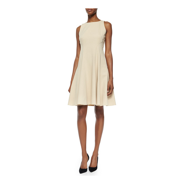 RALPH LAUREN BLACK LABEL Giordanna raised-seam a-line dress - ONLYATNM Only Here. Only Ours. Exclusively for You. Ralph...
