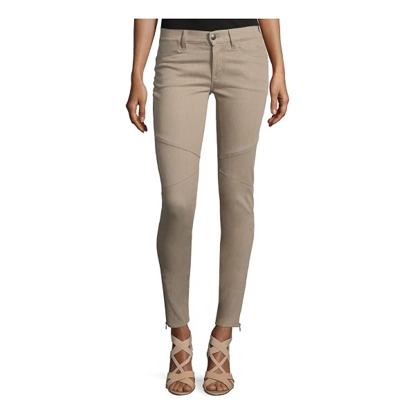 """RALPH LAUREN COLLECTION 400 Matchstick Ankle Jeans - Ralph Lauren """"400 Matchstick"""" seamed stretch-denim jeans...."""