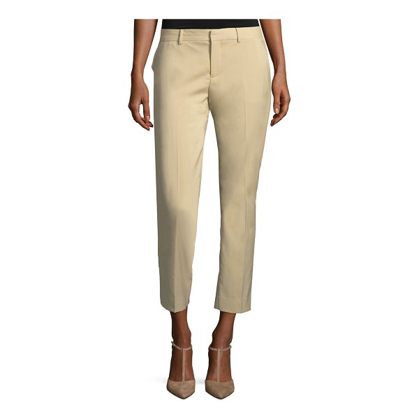 "RALPH LAUREN COLLECTION Patrice Straight-Leg Ankle Wool Pants - Ralph Lauren Collection ""Patrice"" wool pants. Mid-rise;..."