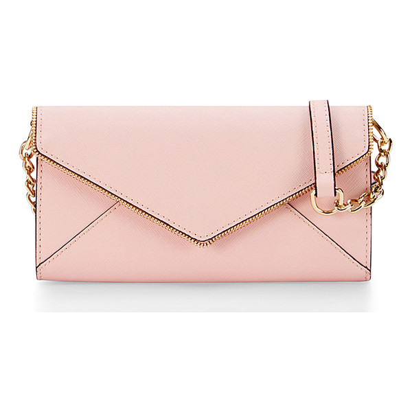 REBECCA MINKOFF Cleo wallet-on-a-chain bag - Rebecca Minkoff saffiano leather wallet-on-a-chain. Shiny...