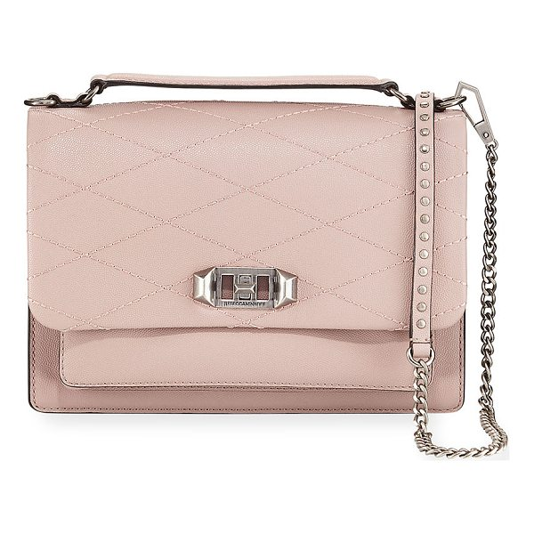 REBECCA MINKOFF Je Taime Medium Crossbody Bag - Rebecca Minkoff pebbled leather crossbody bag. Padded flat...