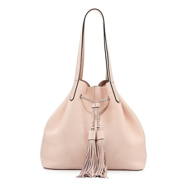 REBECCA MINKOFF Pebbled Drawstring Tote Bag - ONLYATNM Only Here. Only Ours. Exclusively for You. Rebecca...