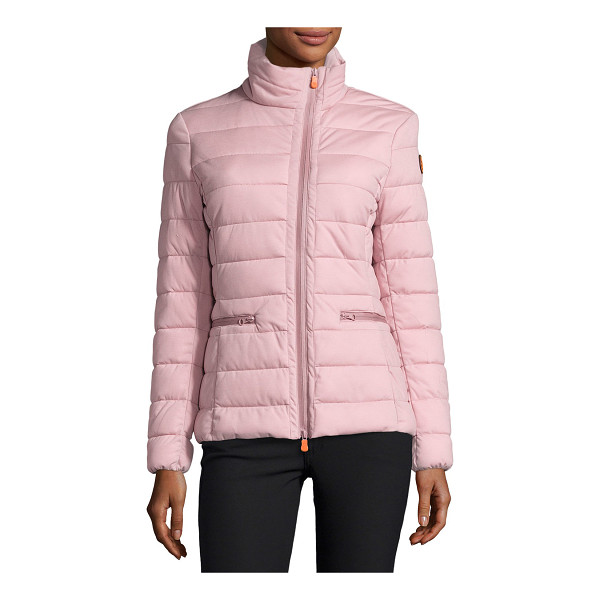 SAVE THE DUCK Funnel-Neck Asymmetric-Zip Puffer Jacket - ONLYATNM Only Here. Only Ours. Exclusively for You. Save...