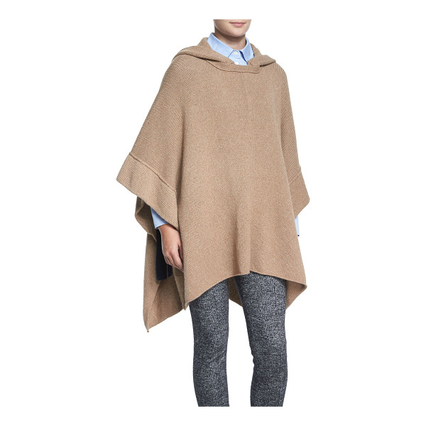 SEE BY CHLOE Fancy stitch knit poncho - See by Chloe knit poncho. Detachable hood at back. Long...