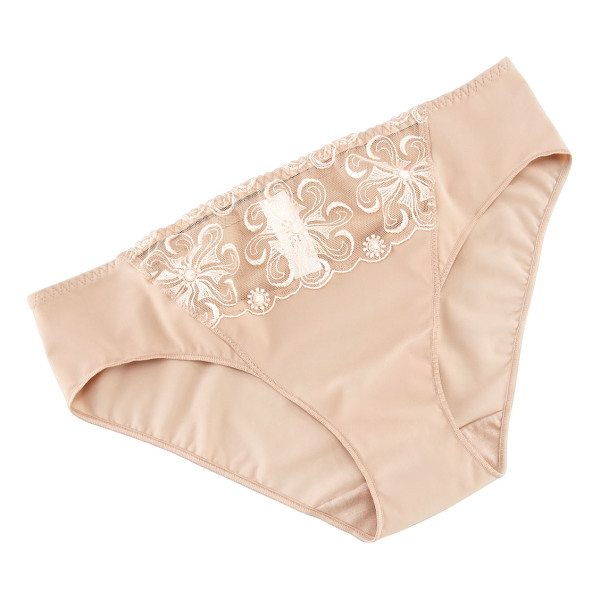 SIMONE PERELE Revelation bikini briefs - Stretch knit with sheer panel at front. Seamless design....